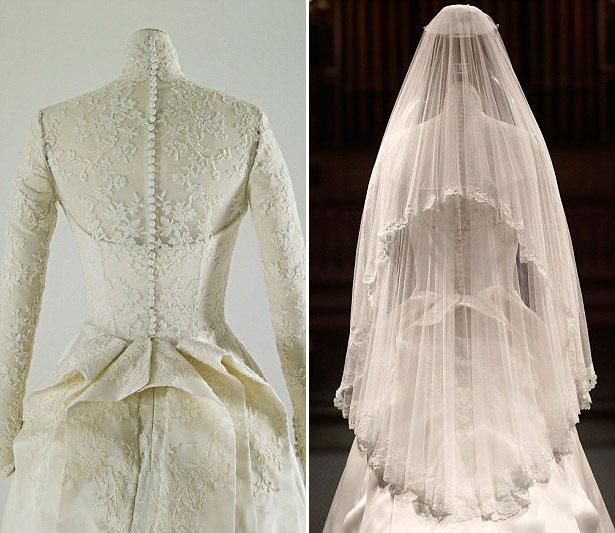 estilo girlie vestido de noiva de kate middleton ganha exposicao em londres estilo girlie blogger
